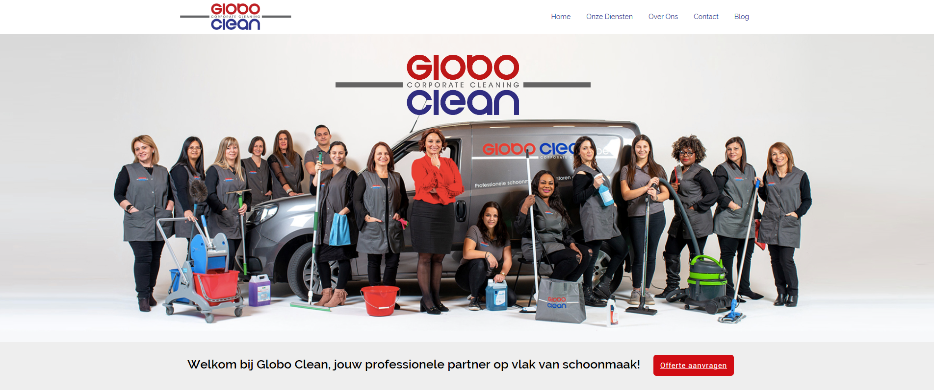 Website Globo Clean